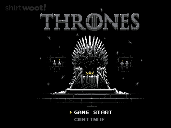 That Thrones Game T Shirt