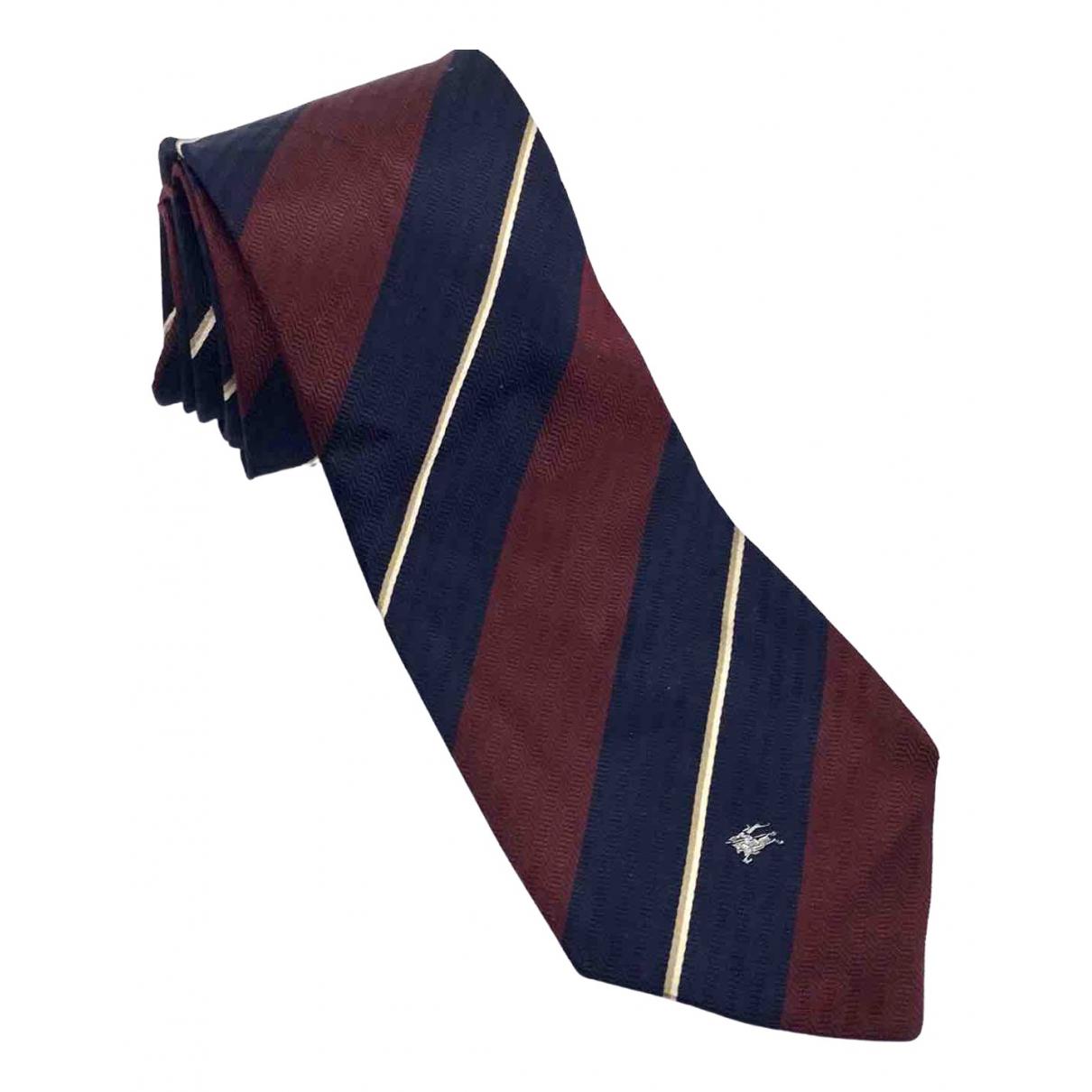 Burberry \N Krawatten in  Bunt Seide