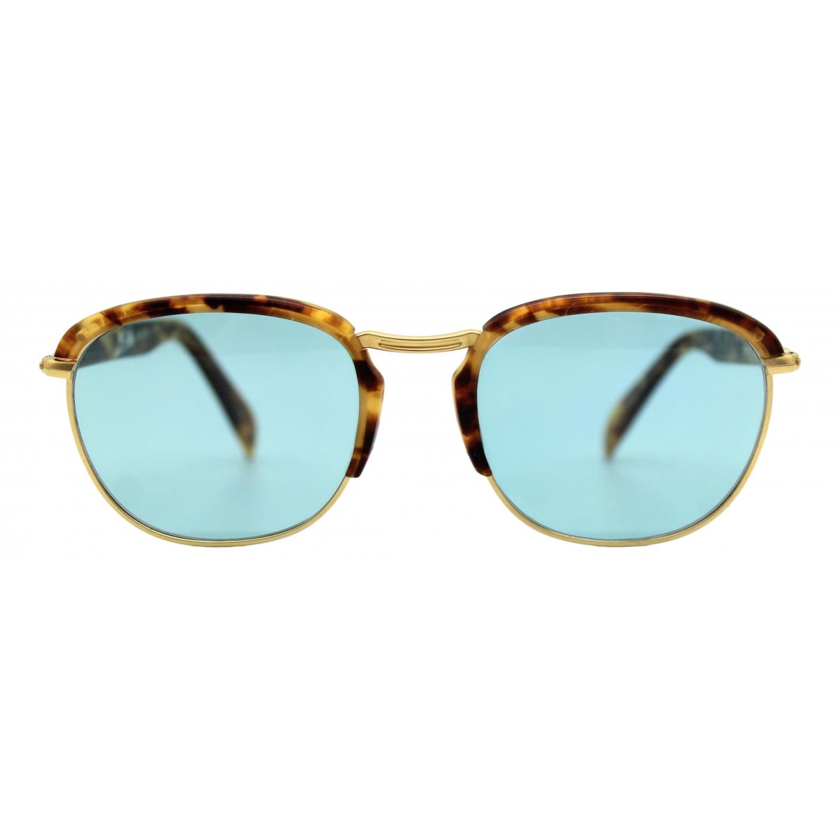 Jean Paul Gaultier \N Brown Metal Sunglasses for Men \N
