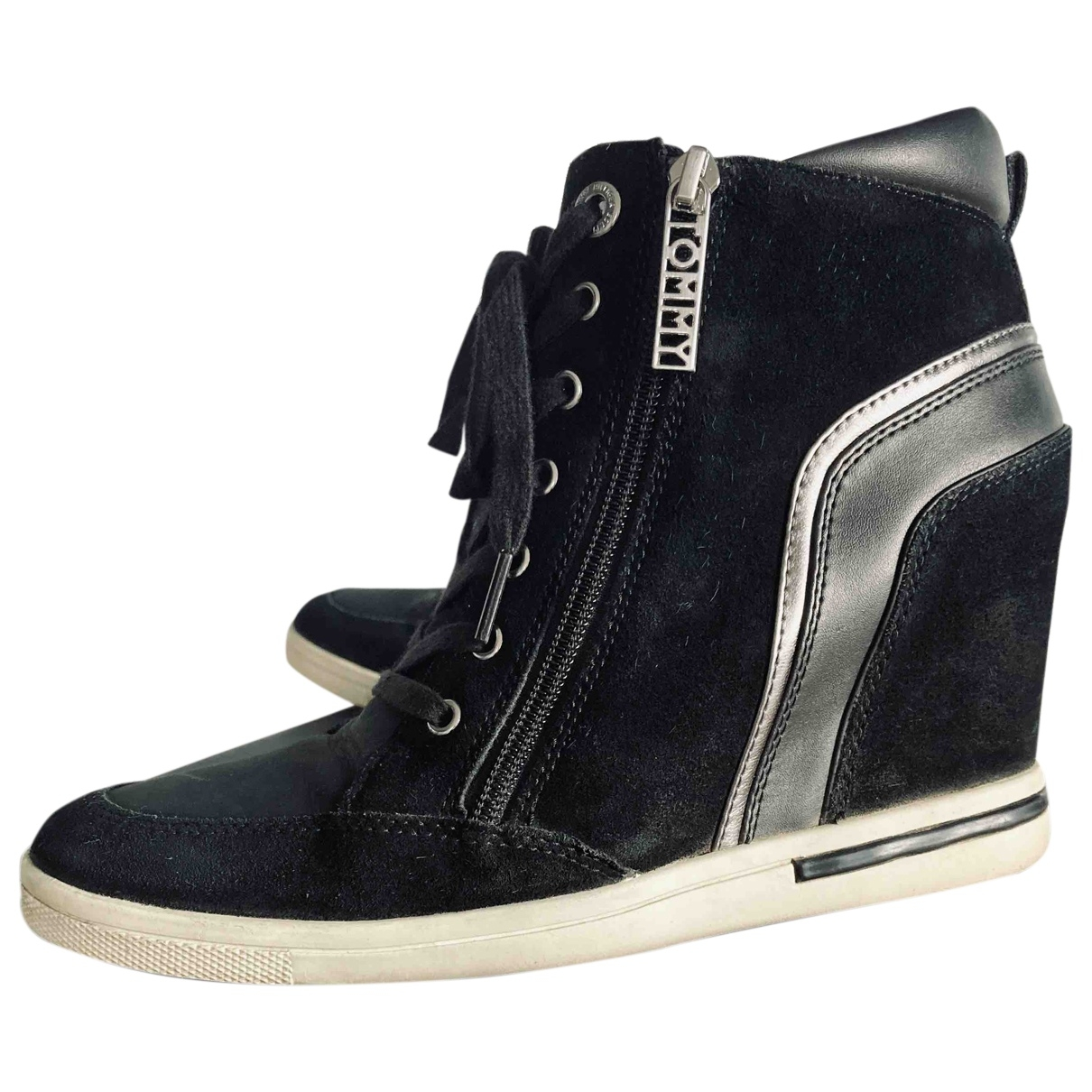 Tommy Hilfiger \N Sneakers in  Schwarz Samt