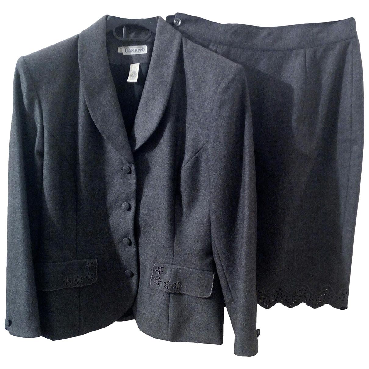 Cacharel \N Grey Wool jacket for Women 40 FR