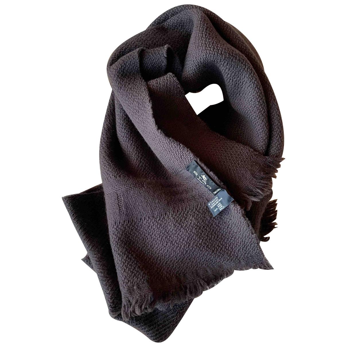 Etro - Cheches.Echarpes   pour homme en laine - marron
