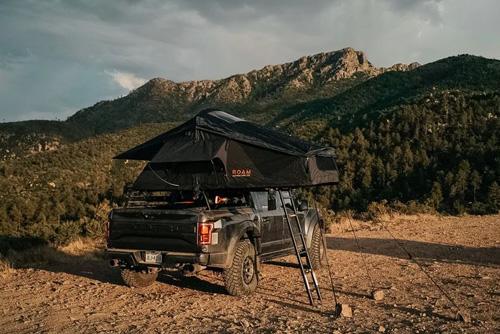 ROAM Vagabond Rooftop Tent Black Without Annex