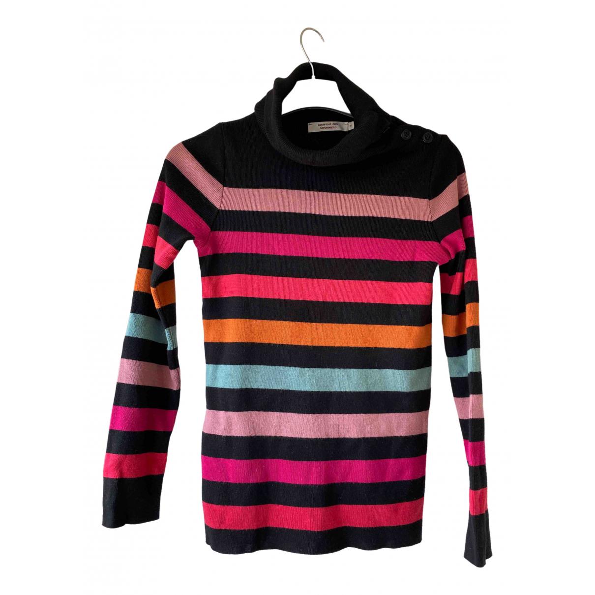 Comptoir Des Cotonniers - Pull   pour femme en laine - multicolore