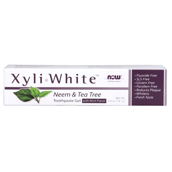 Xyliwhite Neem & Tea Tree Toothpaste 6.4 Oz by Now Foods