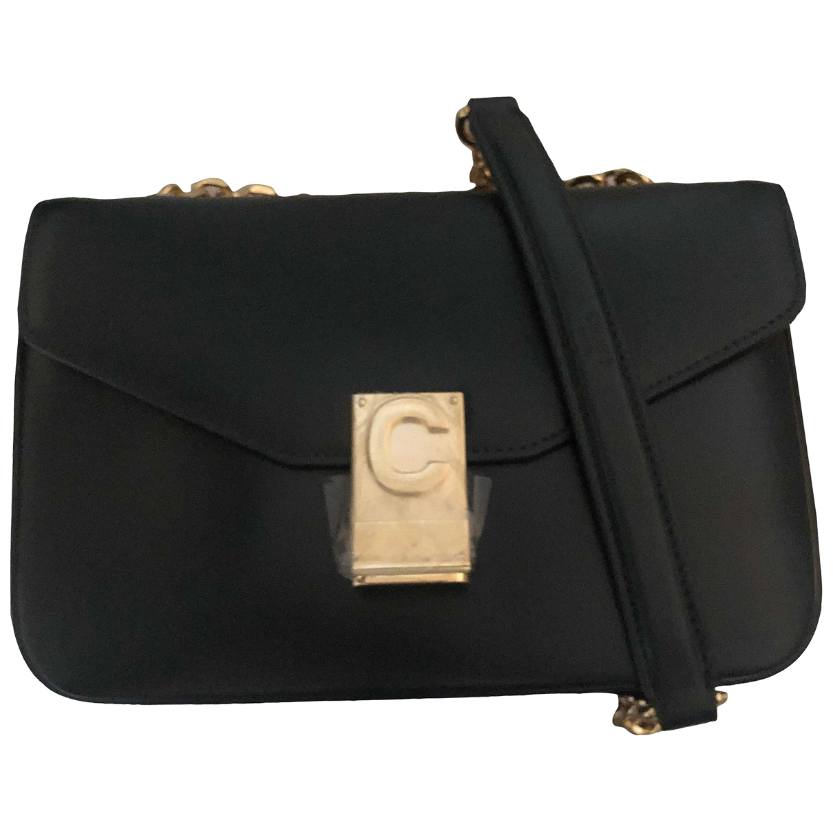 Celine C bag Green Leather handbag for Women \N