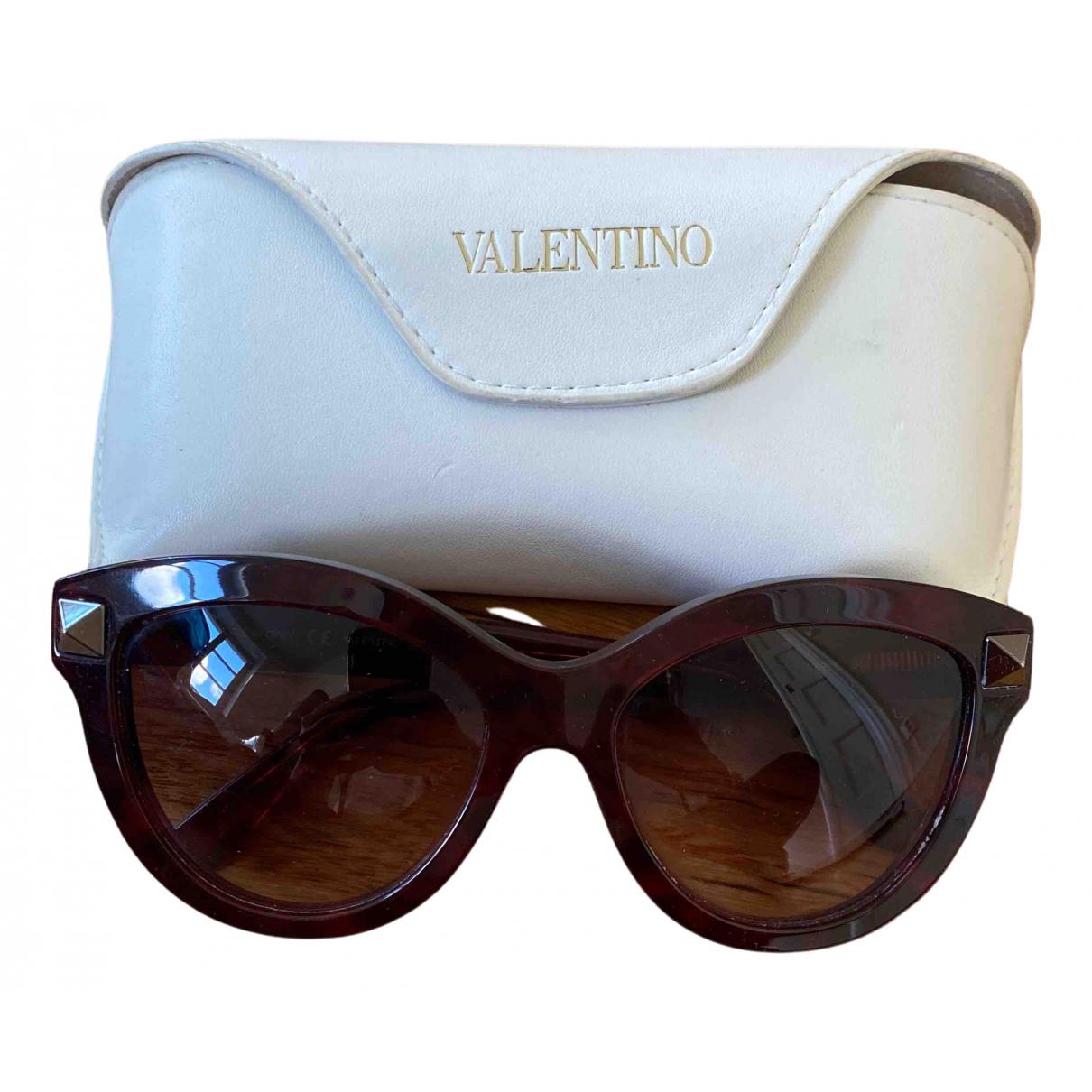 Valentino Garavani - Lunettes   pour femme - bordeaux