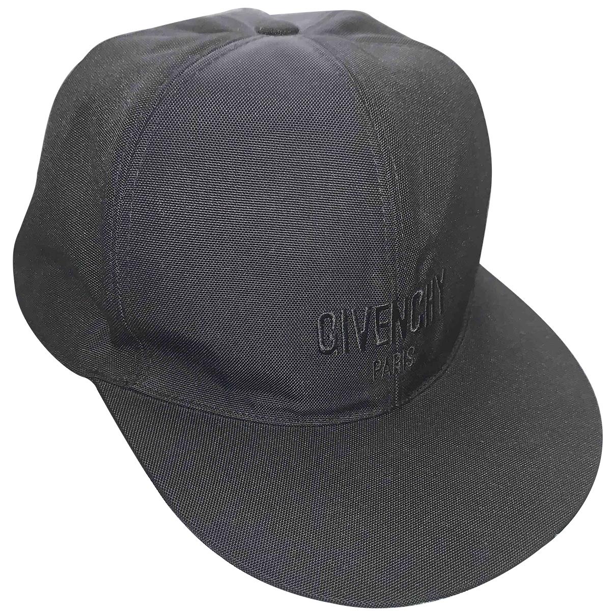 Givenchy - Chapeau & Bonnets   pour homme en coton - noir