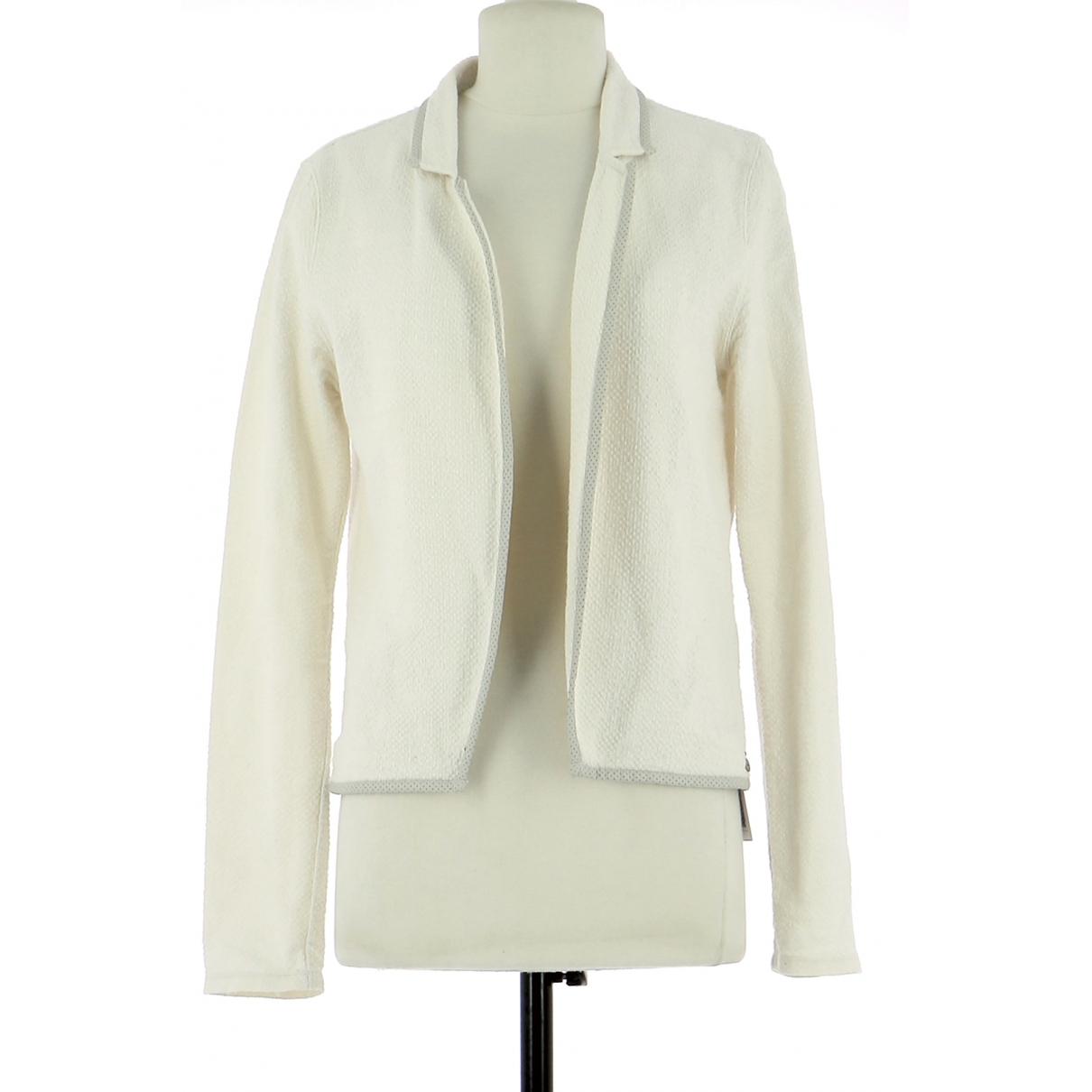 Maison Scotch - Veste   pour femme en coton - blanc