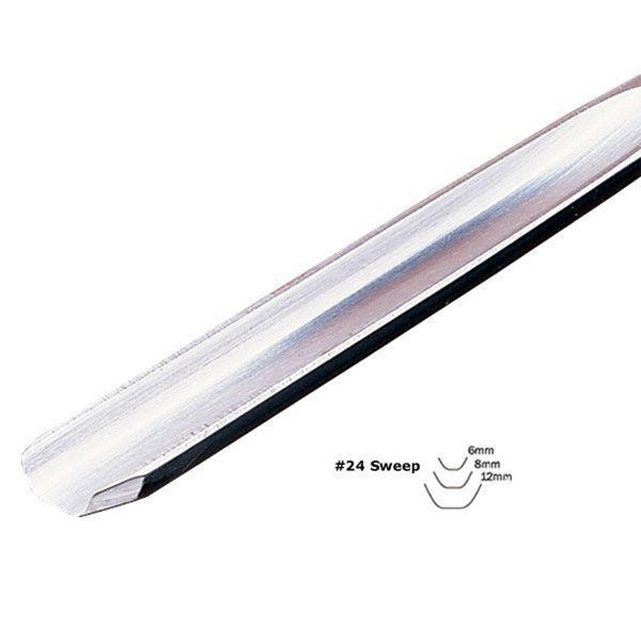 #24 Sweep Fluteroni Gouge 6 mm, Full Size