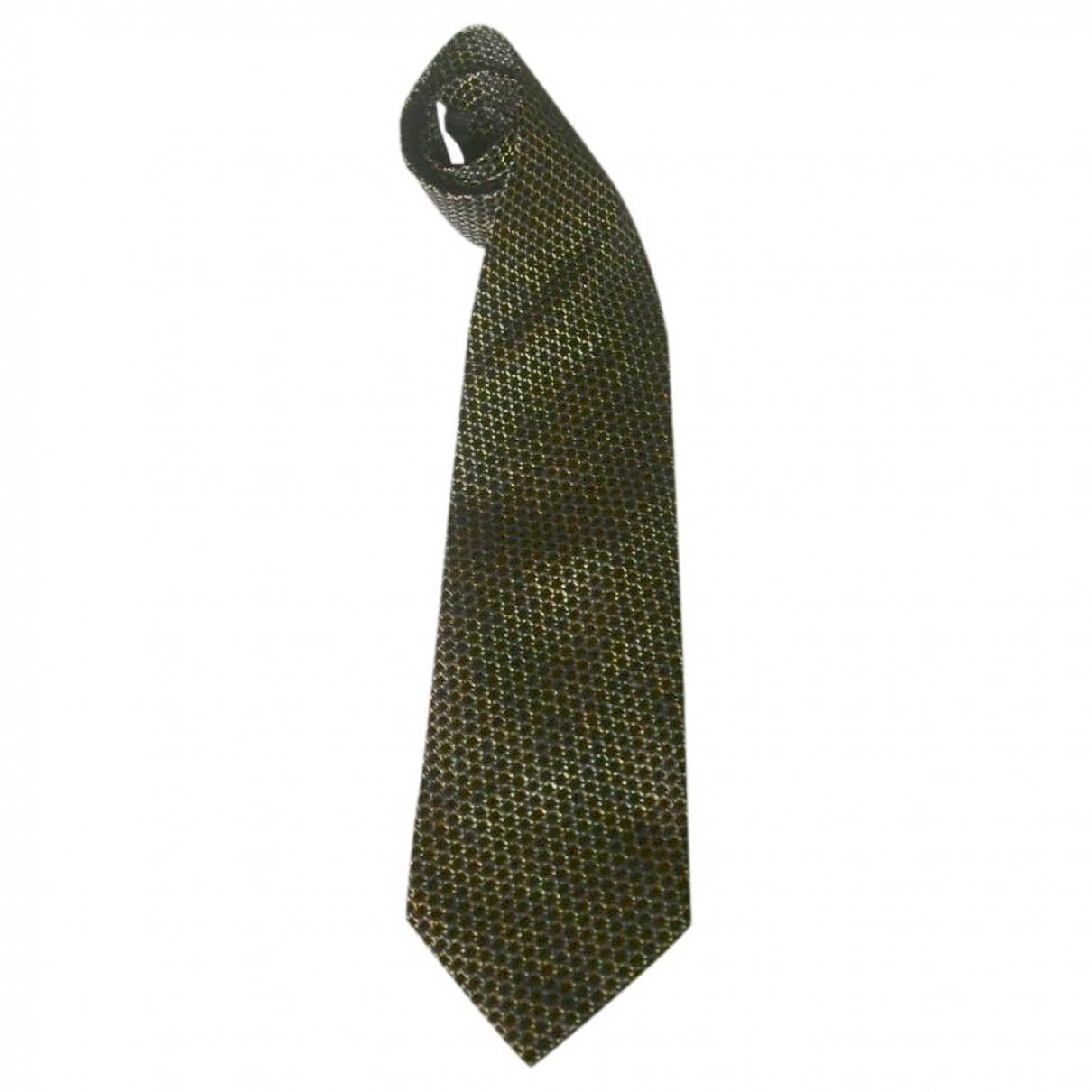 Kenzo - Cravates   pour homme en soie - noir