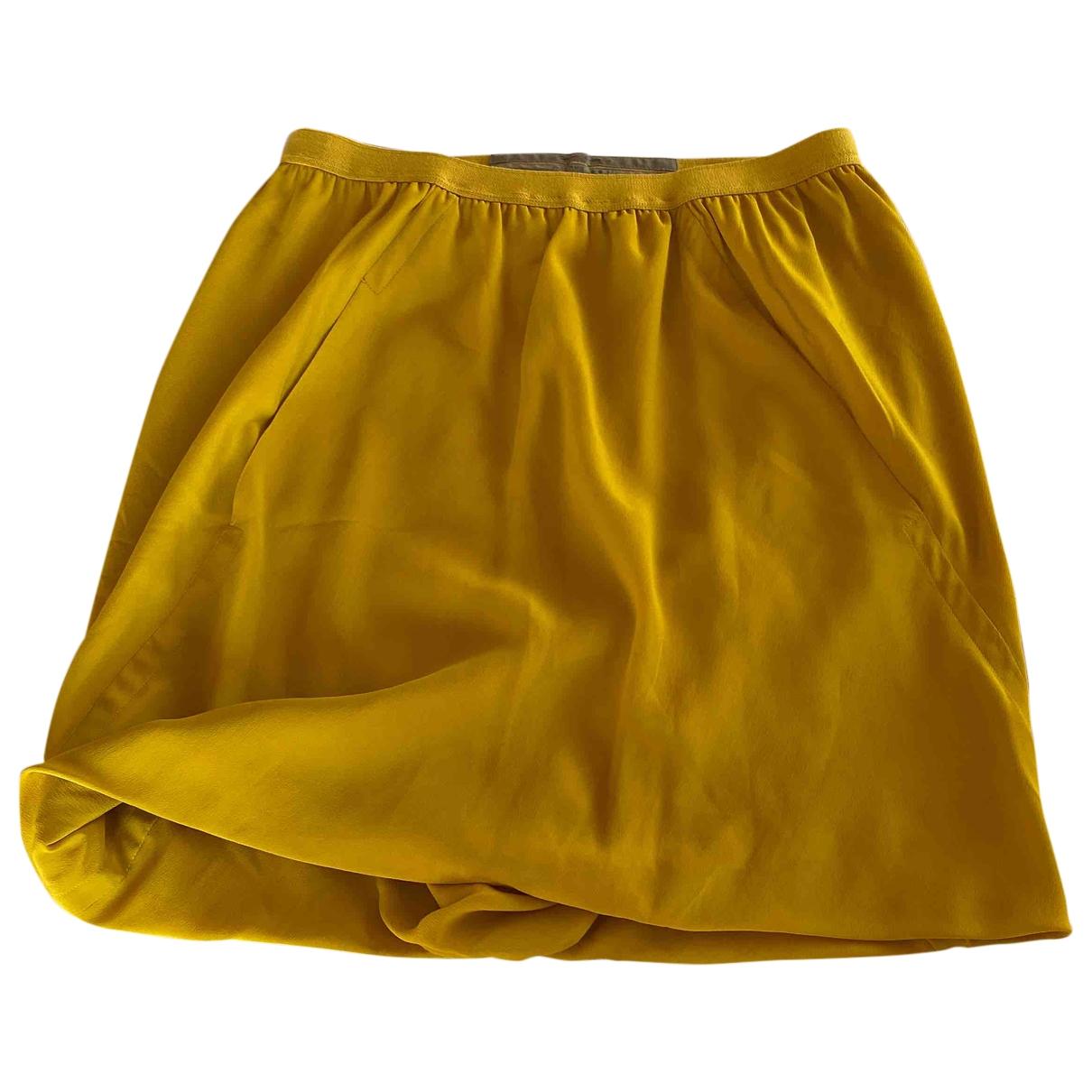 Rick Owens \N Rocke in  Gelb Viskose