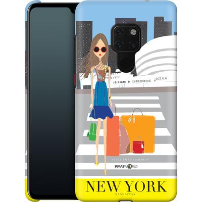 Huawei Mate 20 Smartphone Huelle - NEW YORK TRAVEL POSTER von IRMA