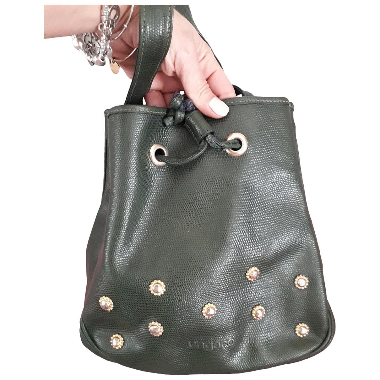 Emanuel Ungaro \N Green Leather handbag for Women \N