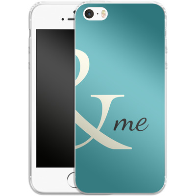 Apple iPhone SE Silikon Handyhuelle - And Me von caseable Designs