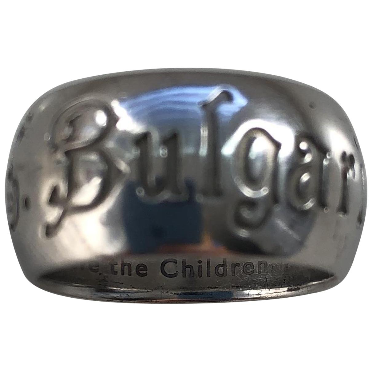 Bvlgari \N Silver Silver ring for Women 51 EU