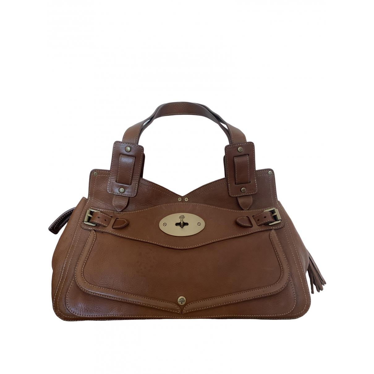 Mulberry \N Camel Leather handbag for Women \N