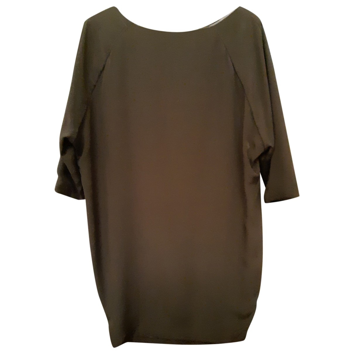 Patrizia Pepe \N Green Silk dress for Women 40 IT