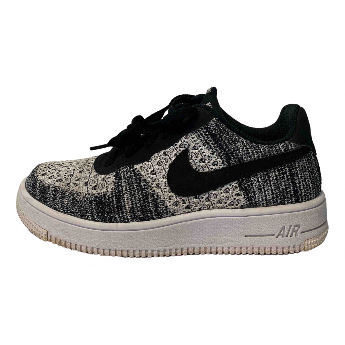 Nike Air Force 1 Grey Cloth Trainers for Women 37.5 EU