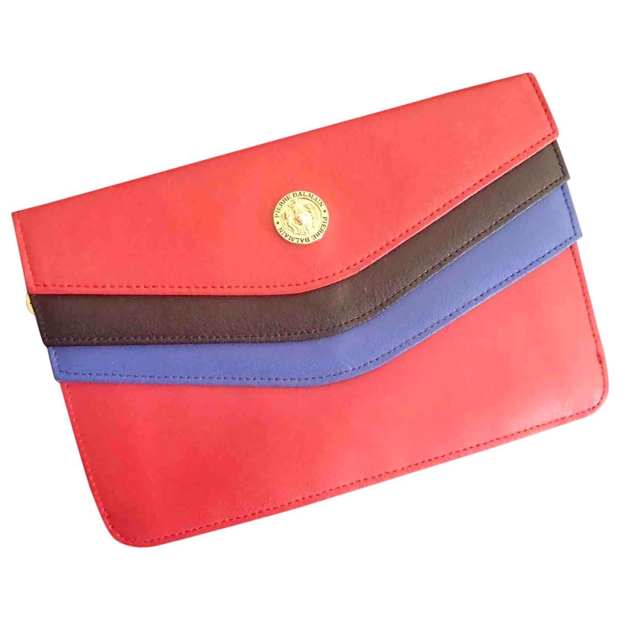 Pierre Balmain - Portefeuille   pour femme en cuir - multicolore