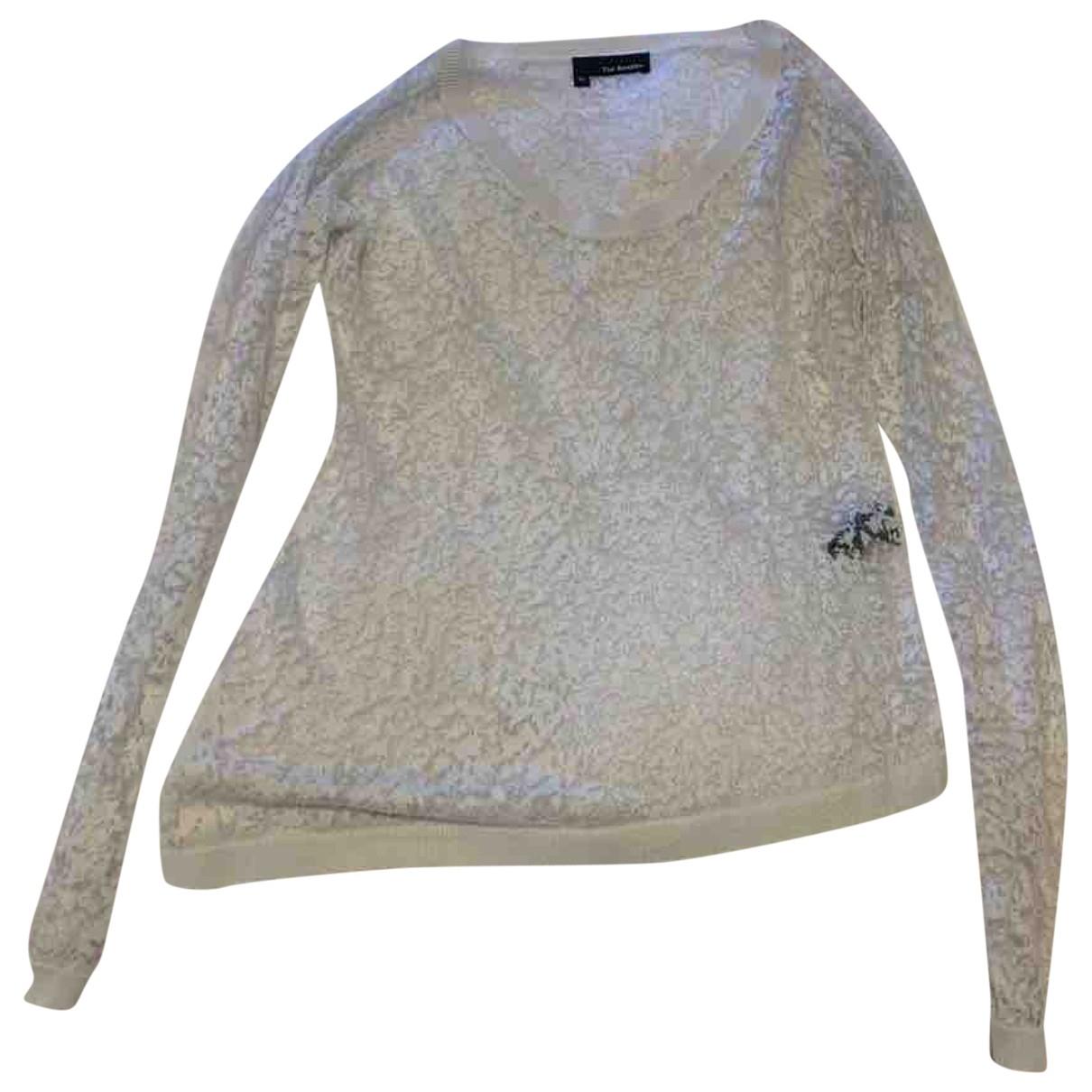 The Kooples \N White Linen Knitwear for Women XS International