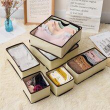 6 piezas caja de ropa interior