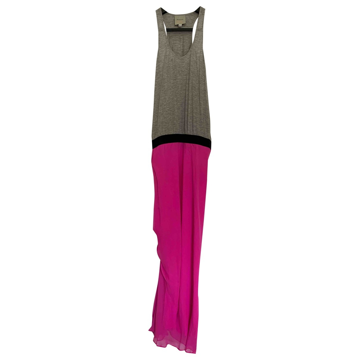 Mason By Michelle Mason \N Kleid in  Rosa Seide
