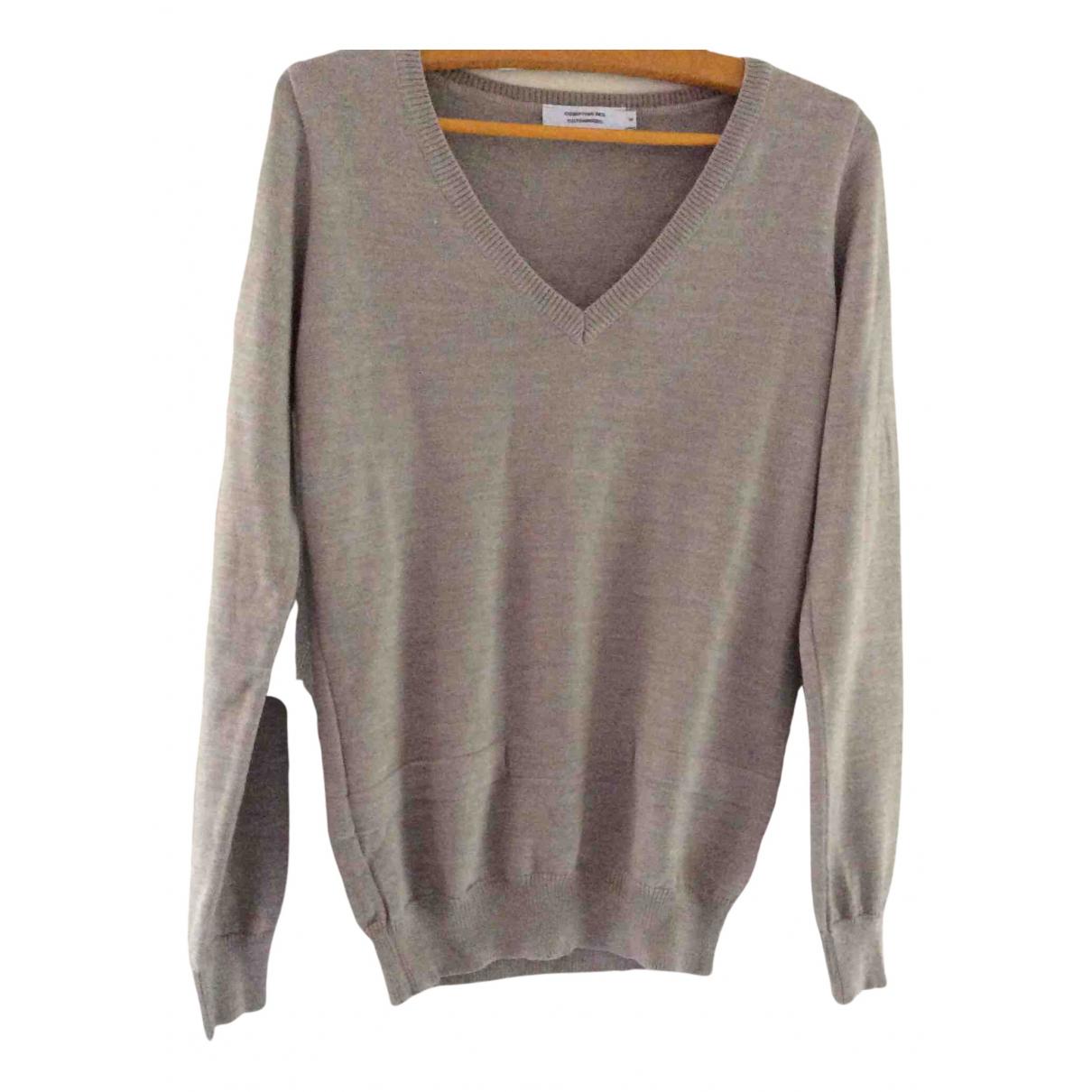 Comptoir Des Cotonniers - Pull   pour femme en laine - beige