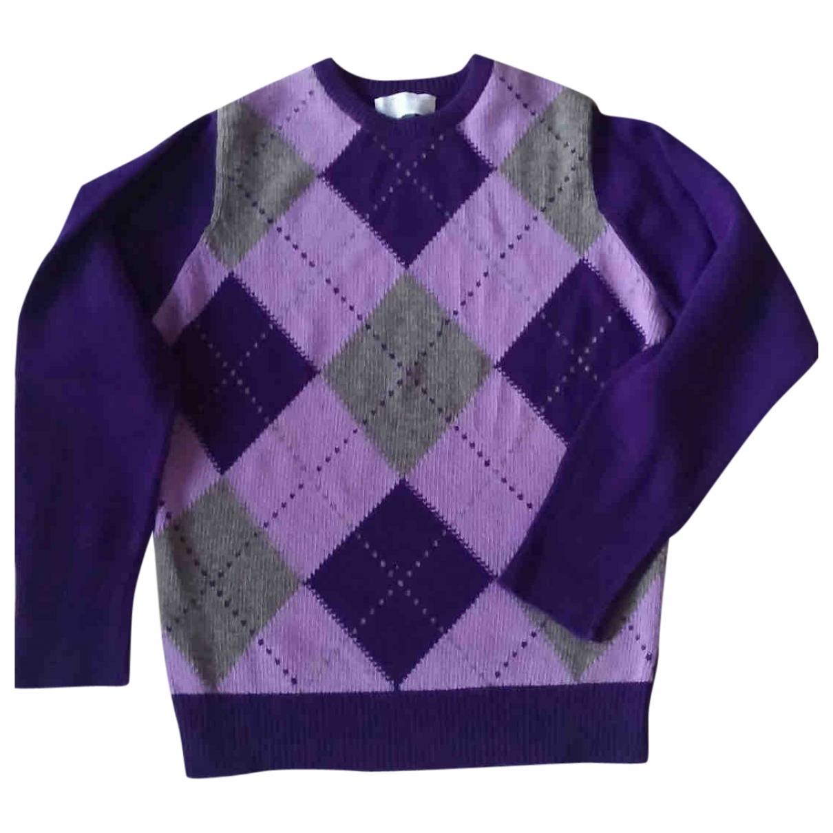 Ballantyne - Pulls.Gilets.Sweats   pour homme en cachemire - violet