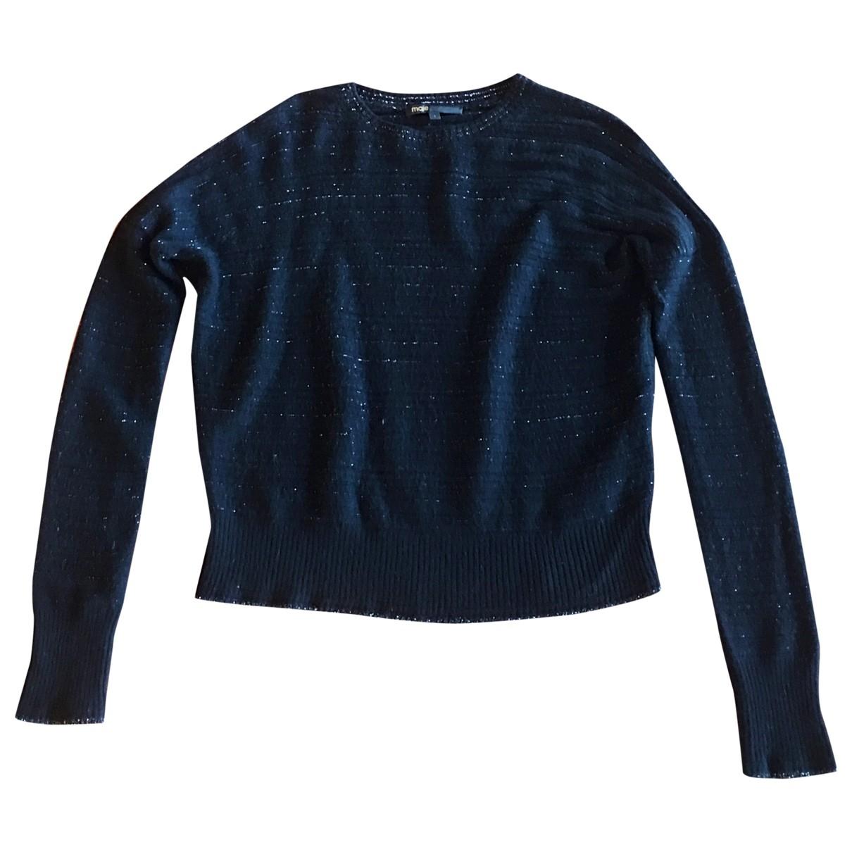 Maje \N Black Wool Knitwear for Women XS International