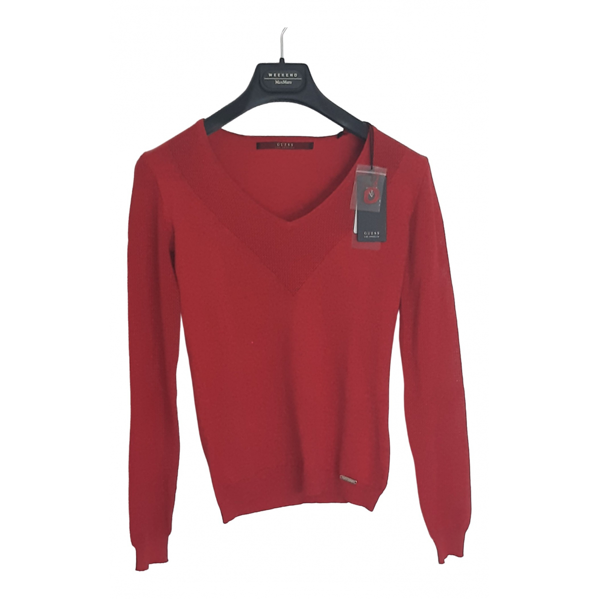 Guess \N Red Cotton Knitwear for Women 38 FR