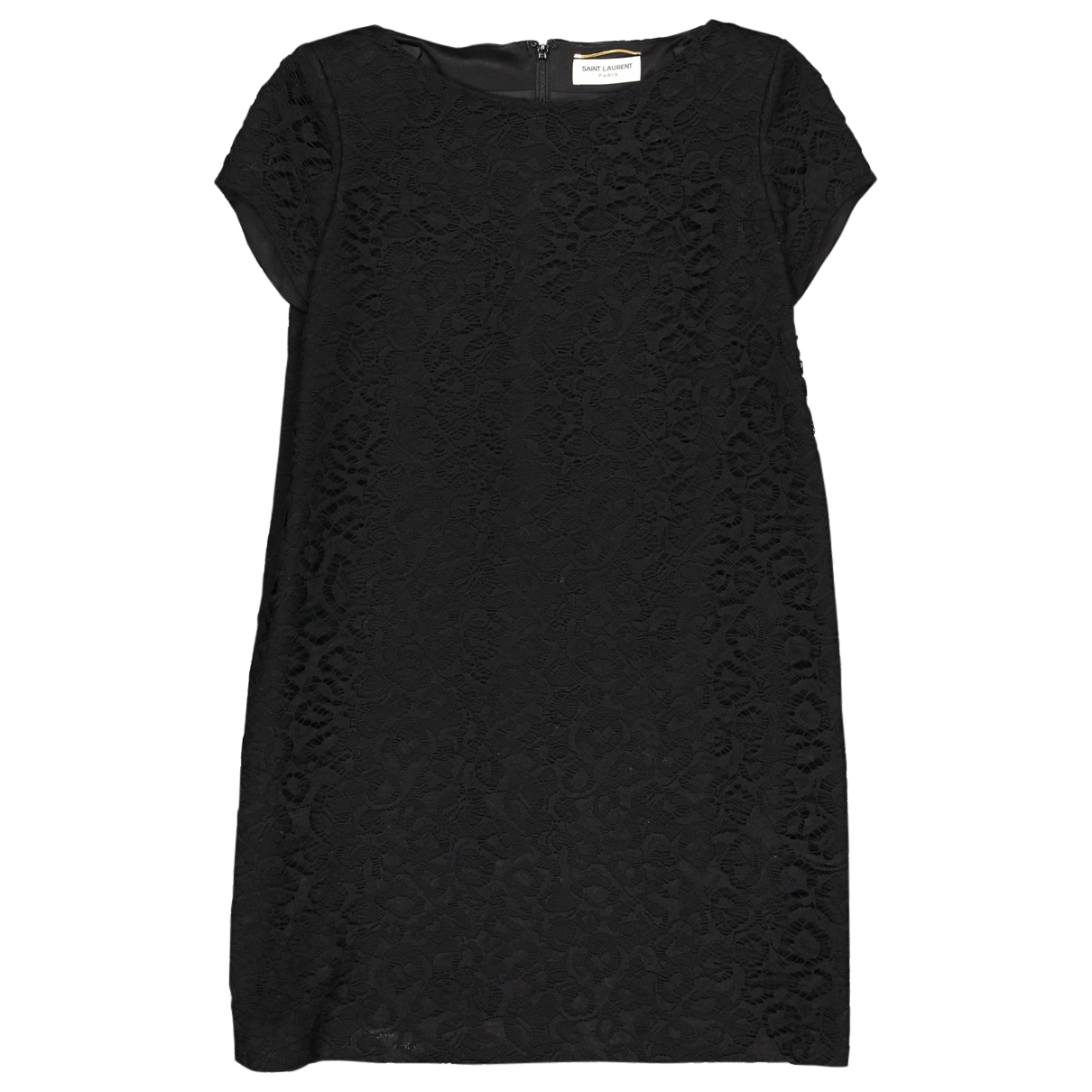 Saint Laurent \N Black Lace dress for Women 42 FR