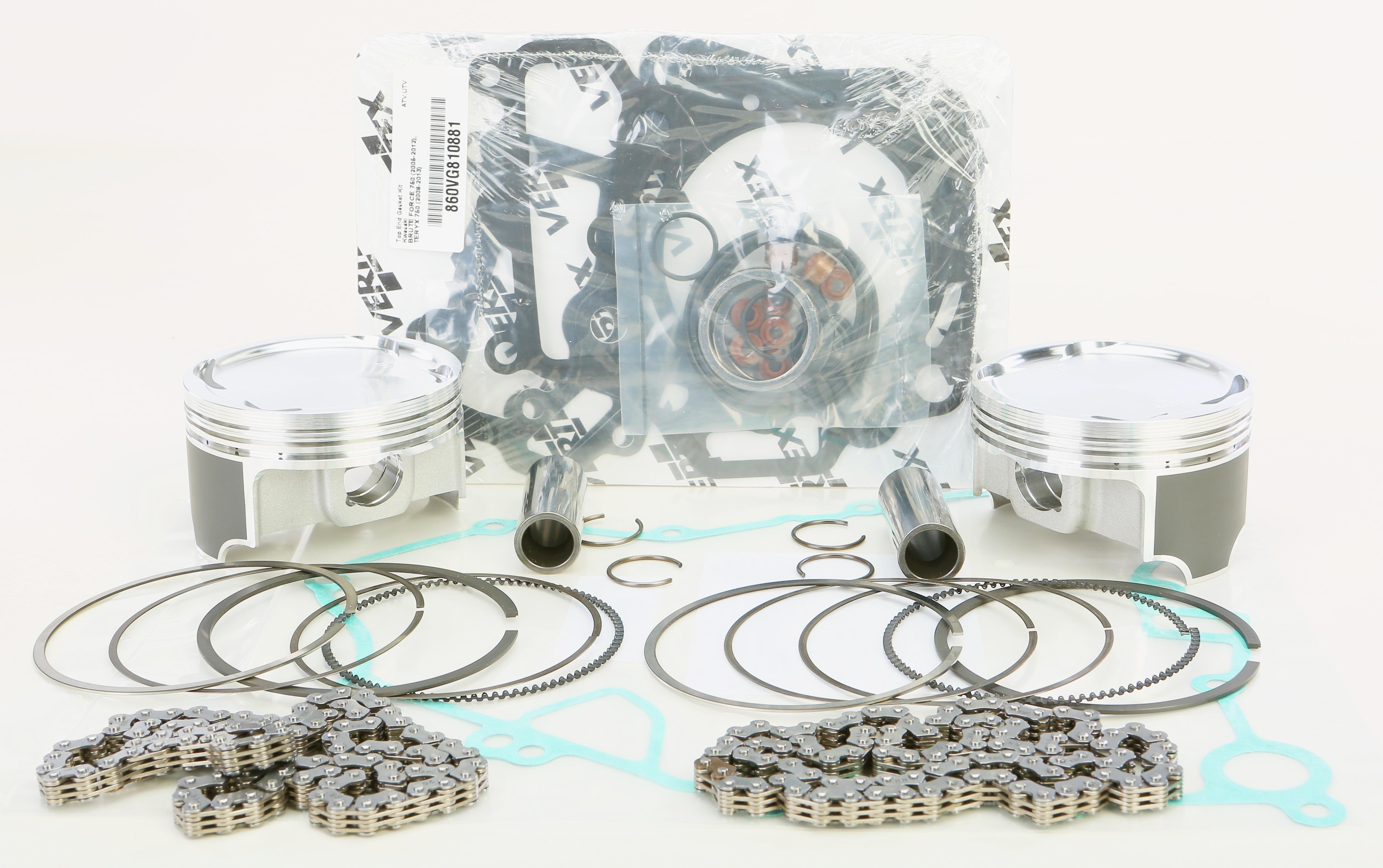 Vertex Top End Piston Kit (84.960mm | 8.8:1) Kawasaki KRF 750 Teryx 4x4 |  KVF 750 Brute Force 4x4i 2005-2014