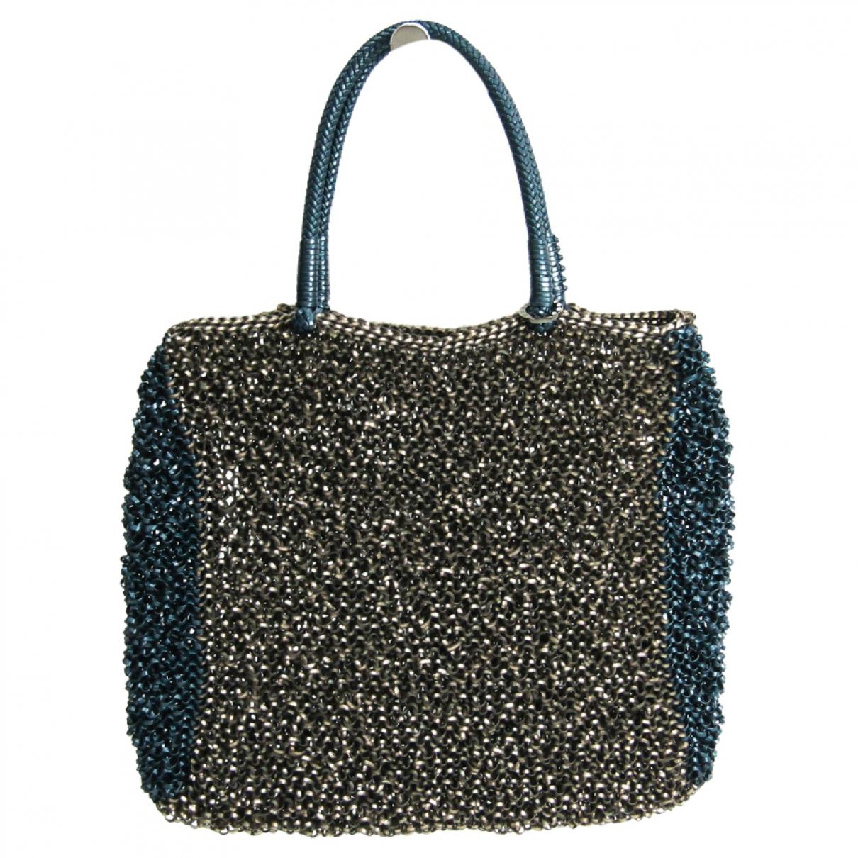 Non Signé / Unsigned \N Blue handbag for Women \N