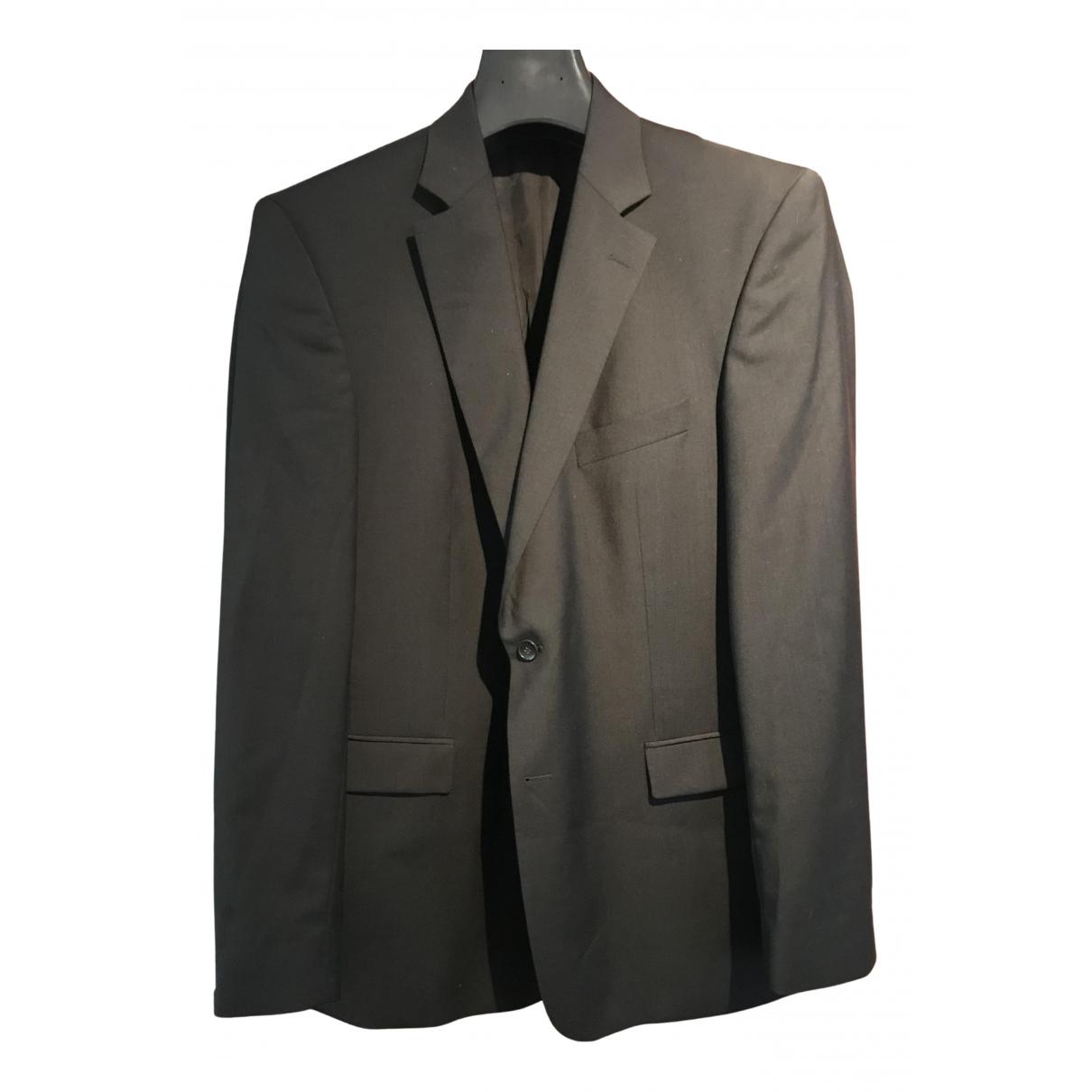 Strellson - Costumes   pour homme en laine - noir