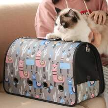 1pc Cat Outdoor Carrier Bag