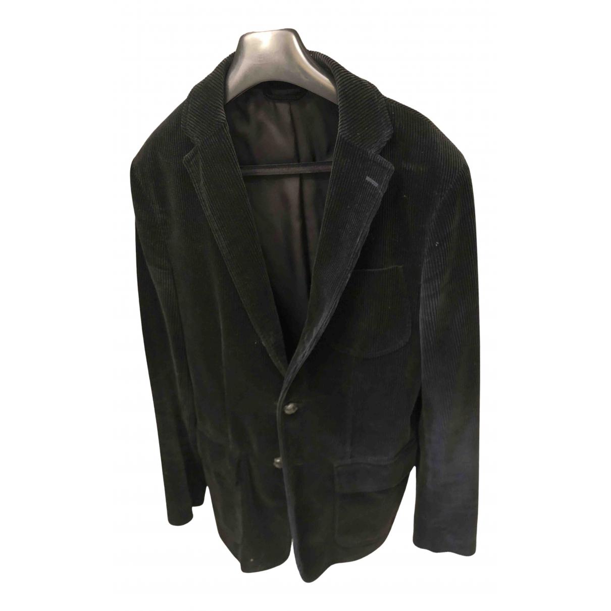 Polo Ralph Lauren - Manteau   pour homme en laine - bleu