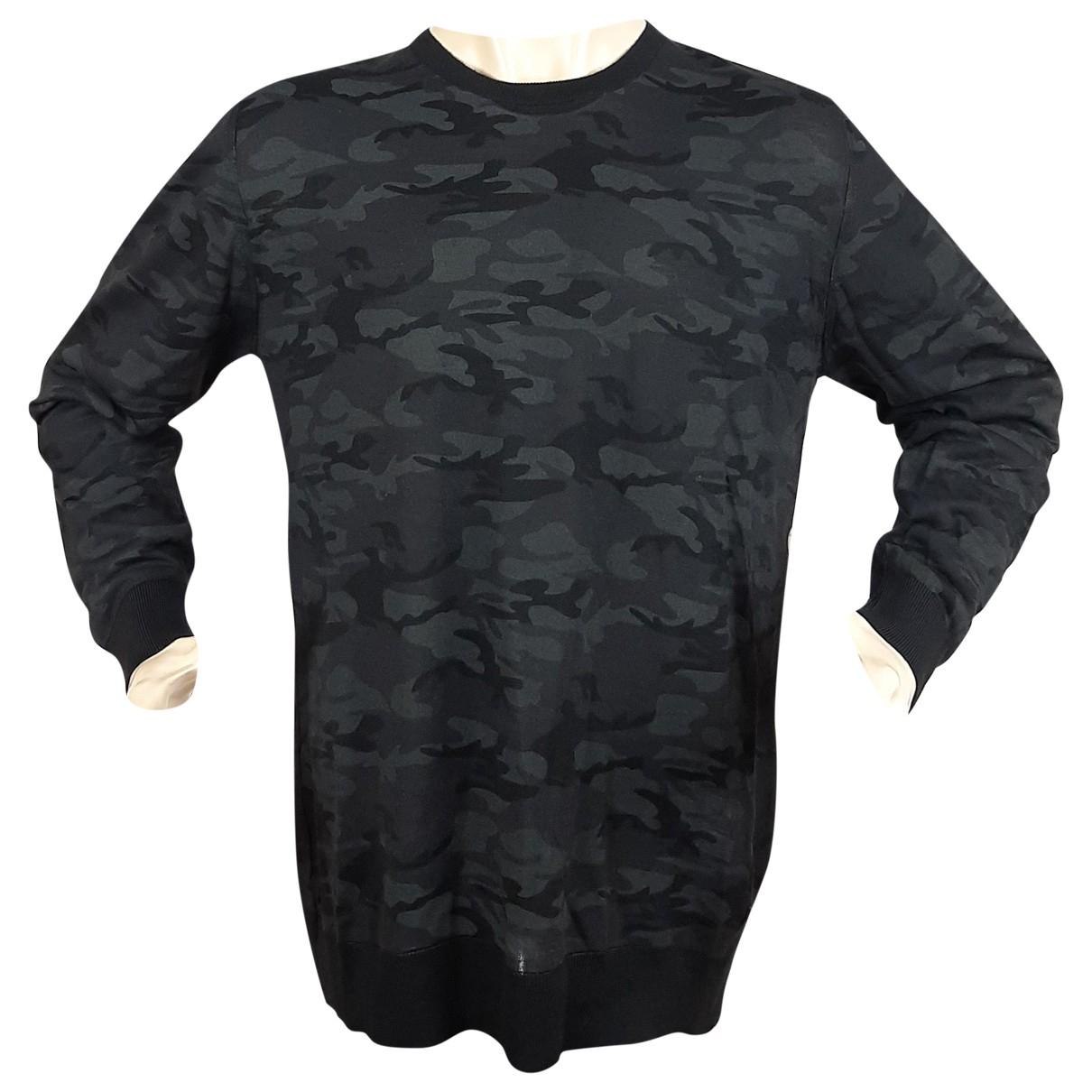 Karl \N Pullover.Westen.Sweatshirts  in  Grau Wolle