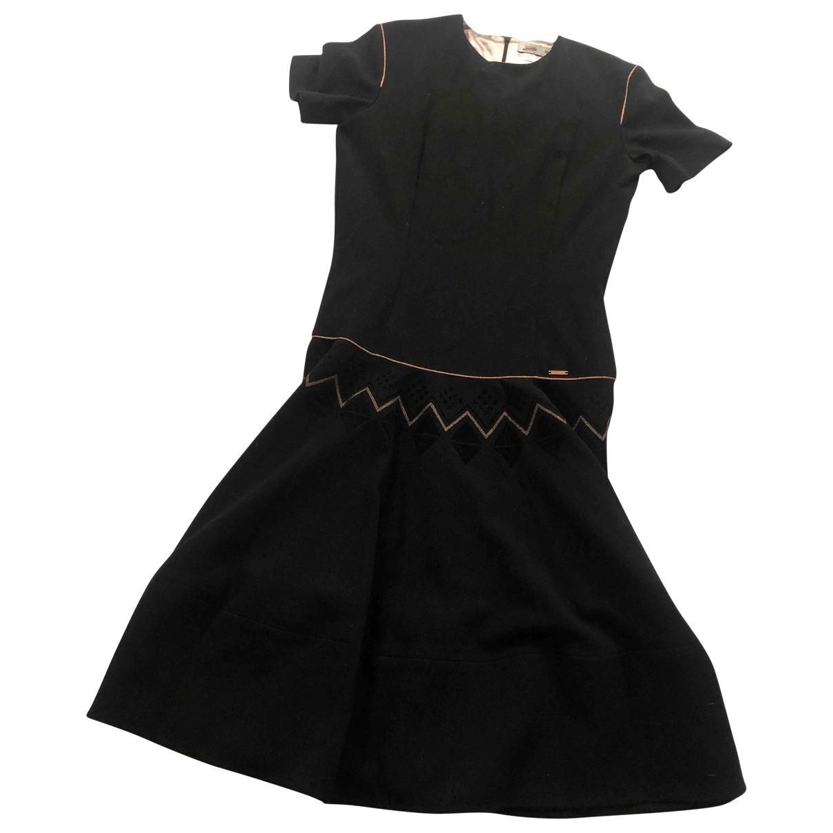 Jean Paul Gaultier - Robe    pour enfant en coton - elasthane - noir