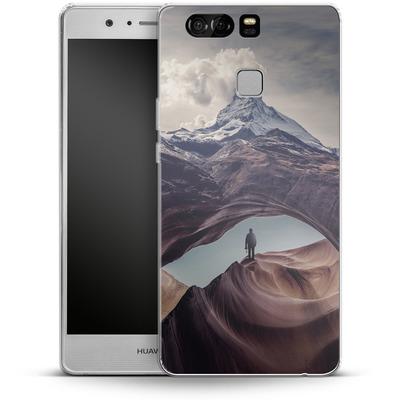Huawei P9 Silikon Handyhuelle - The Great Outdoors von Enkel Dika