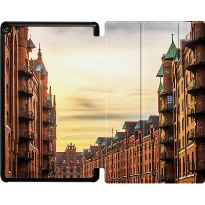Amazon Fire HD 10 (2018) Tablet Smart Case - Speicherstadt von caseable Designs