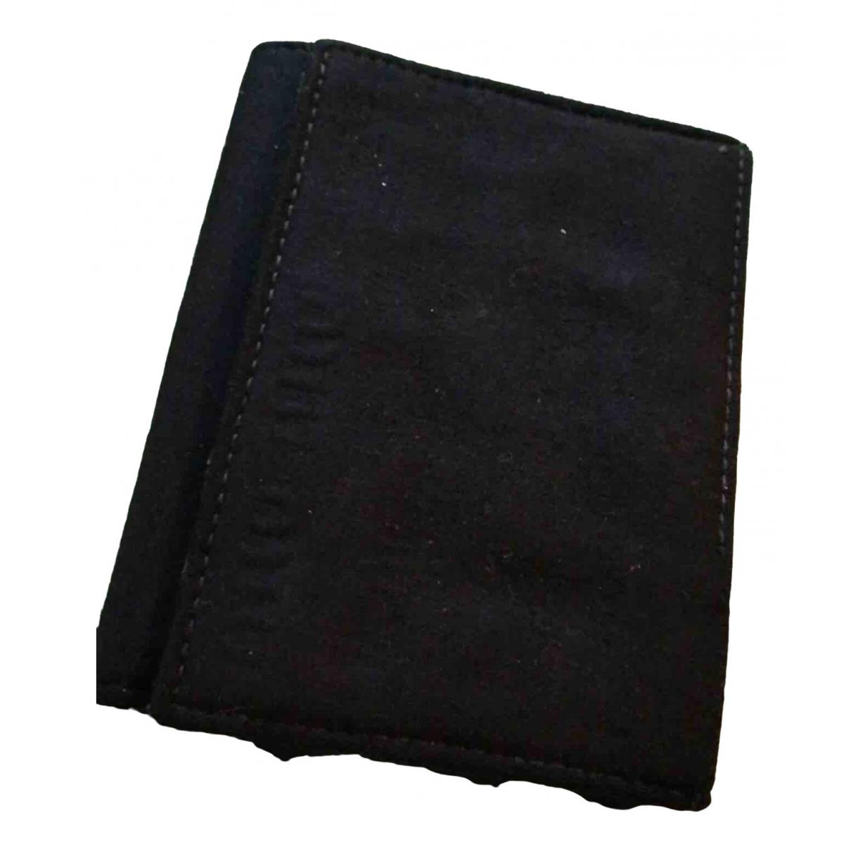 Miu Miu - Petite maroquinerie   pour homme en coton - noir