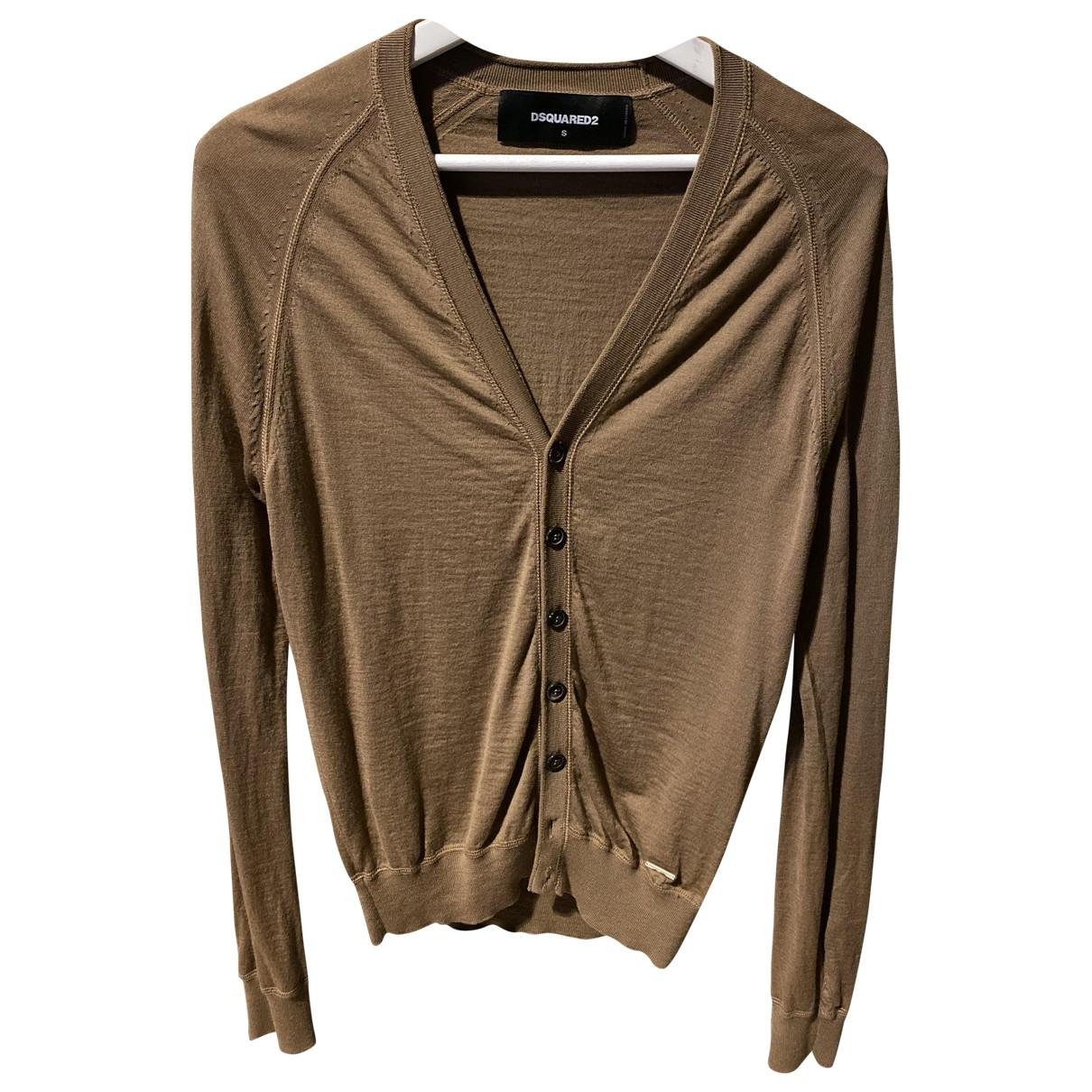 Dsquared2 - Pulls.Gilets.Sweats   pour homme en laine - marron