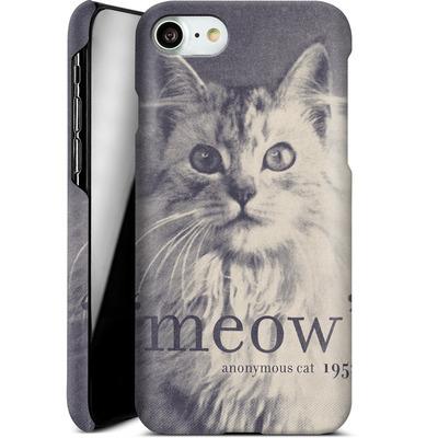 Apple iPhone 8 Smartphone Huelle - Famous Quote Cat von Florent Bodart