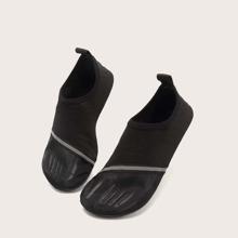 Men Contrast Mesh Water Shoes