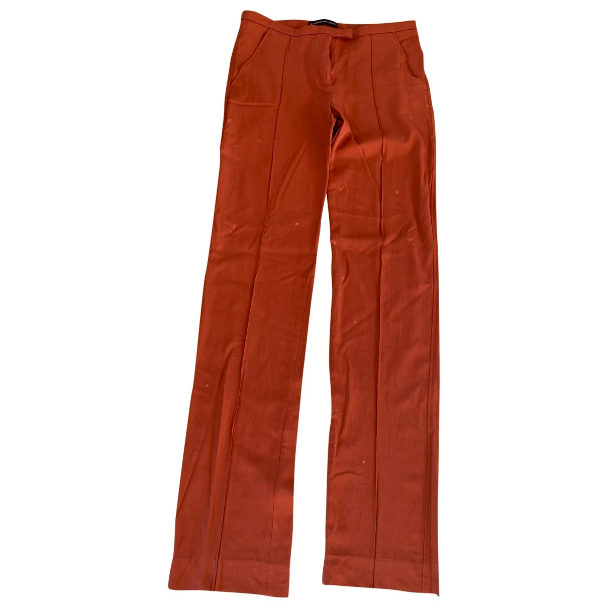 Balenciaga \N Wool Trousers for Women 34 FR