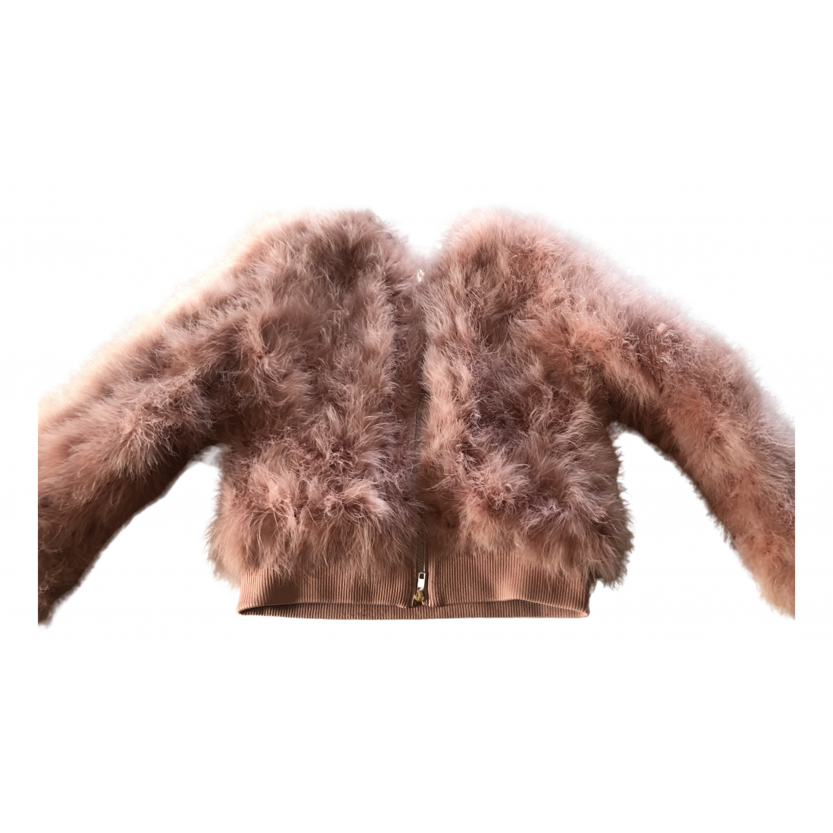 Twin Set \N Pink Faux fur coat for Women 40 IT