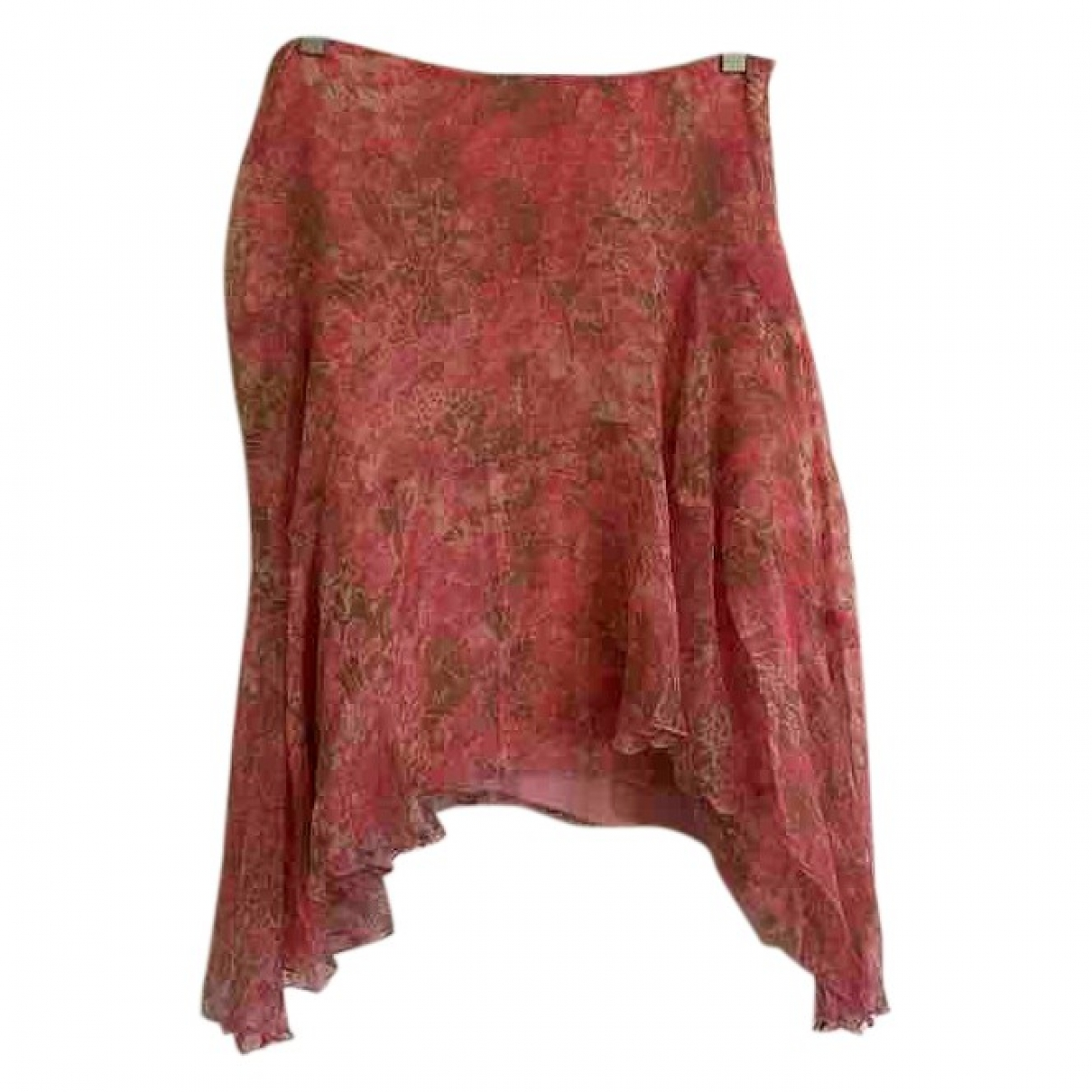 Max Mara - Jupe   pour femme en soie - rose