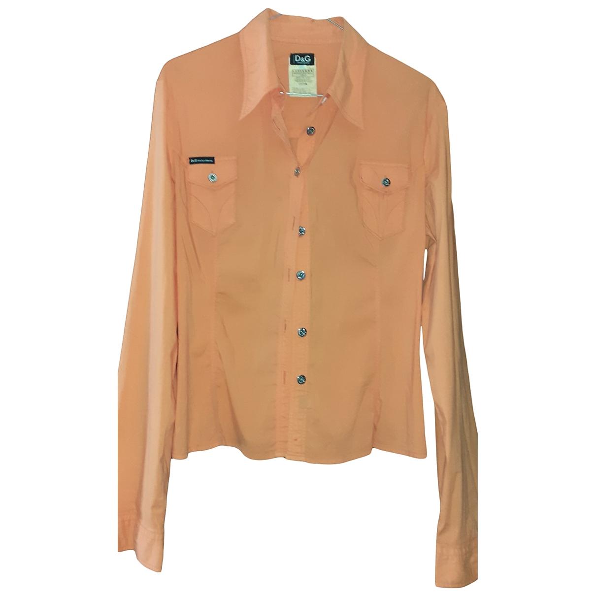 D&g \N Orange Cotton dress for Women 46 FR