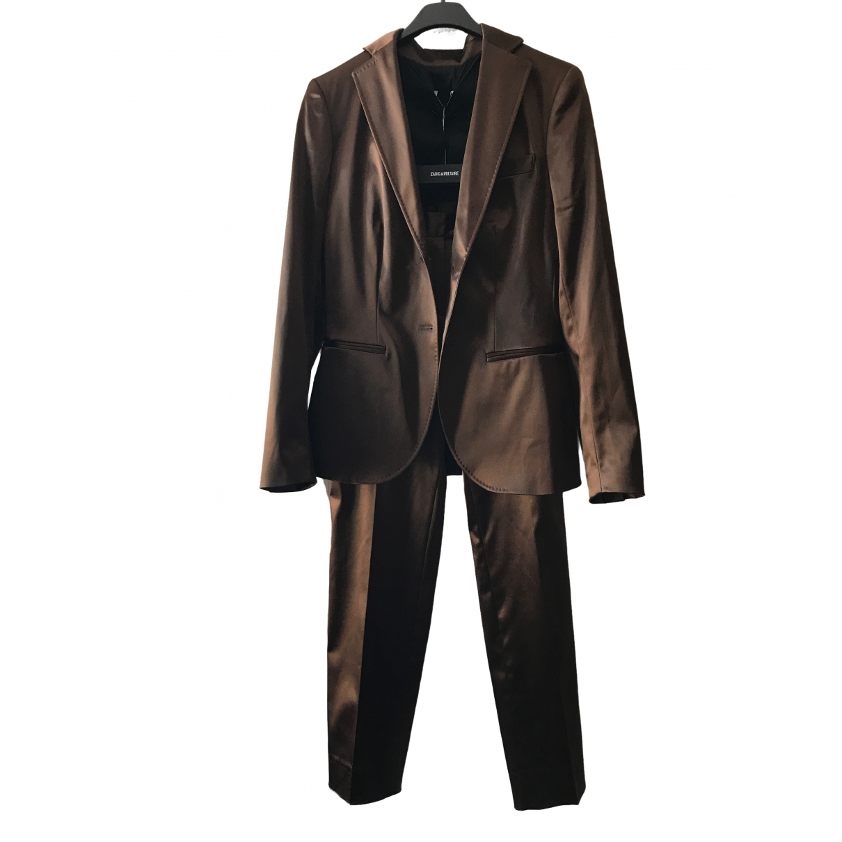 - Veste   pour femme - marron